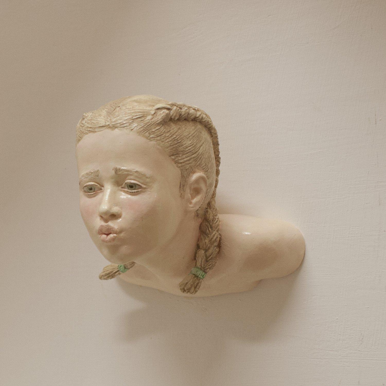 "HEADS ""BACIO"" wall sculpture"