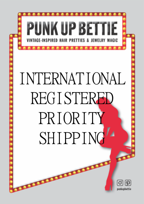 Image of INTERNATIONAL REGISTERED PRIORITY SHIPPING