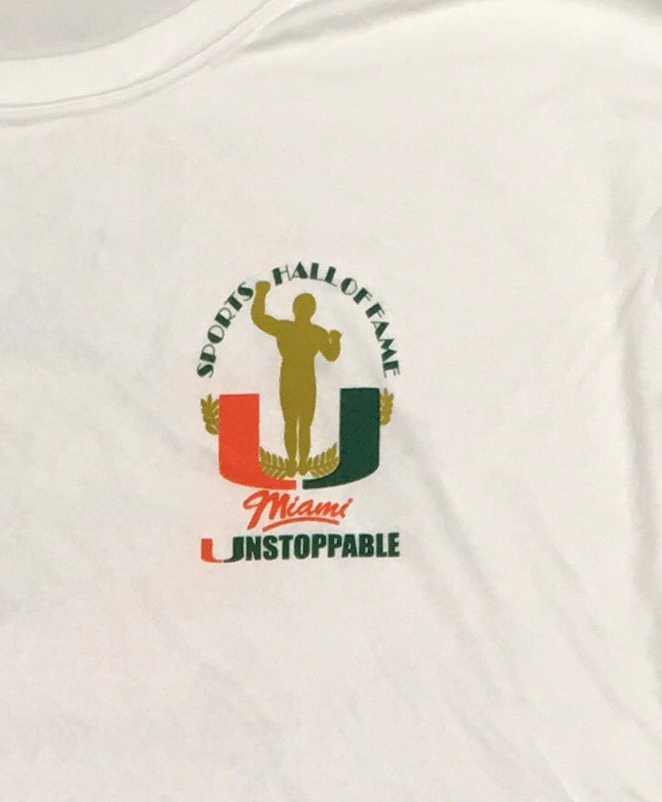 Image of 2014 UNSTOPPABLE UMSHoF 2XL ONLY  Fishing Shirt