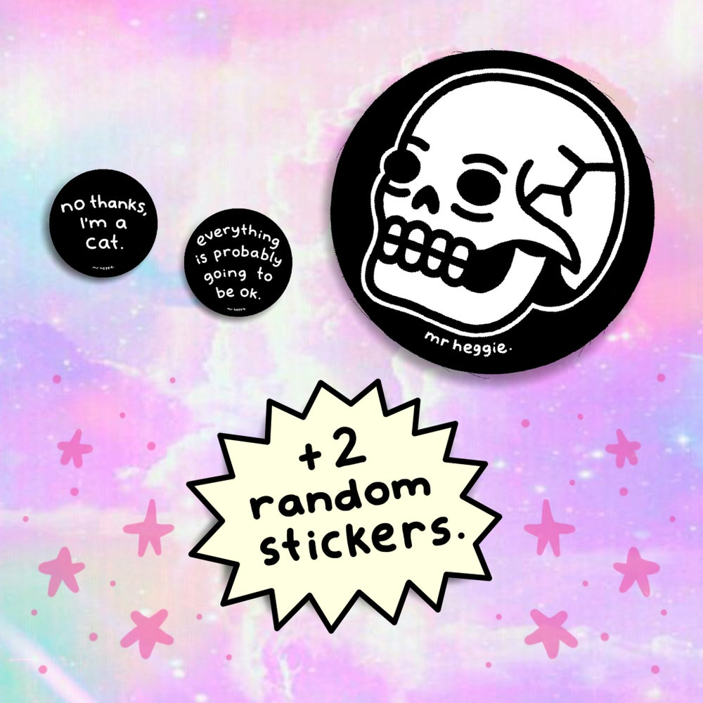 Image of The skull patch set