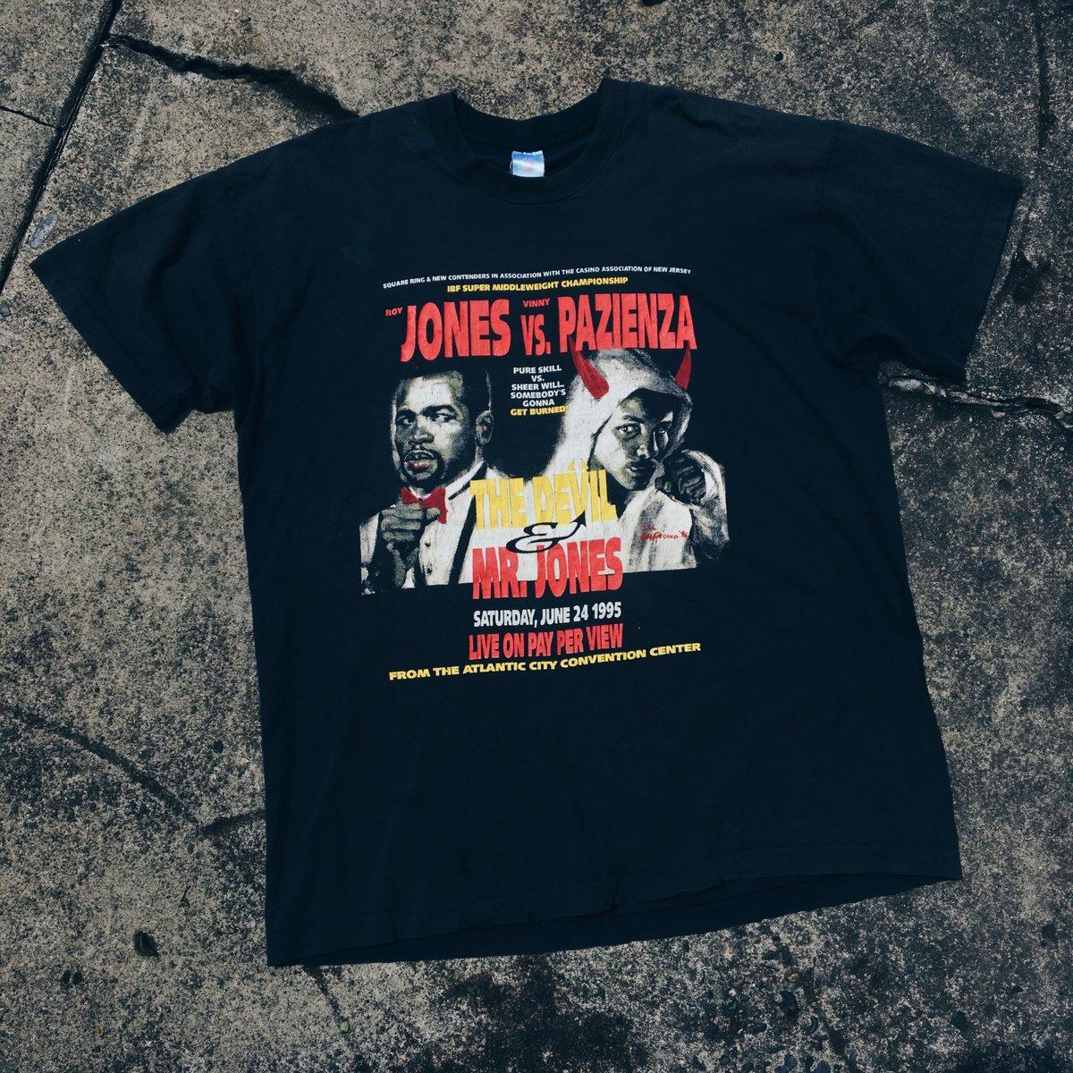 Image of Original 1995 Roy Jones Boxing Tee.