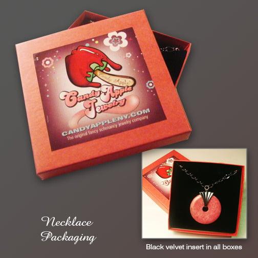 Image of Sparkling Apple Cider Necklace