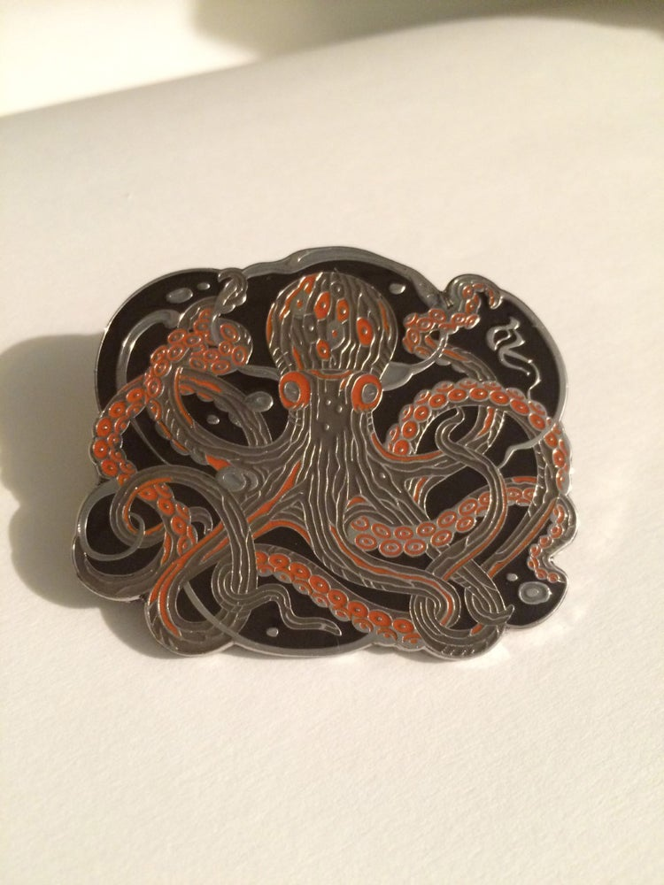 Image of Octopus Pin
