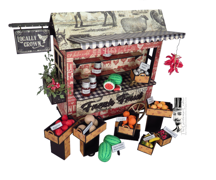 Image of NEW!  Farmhouse Fruit Stand with Mini Kit