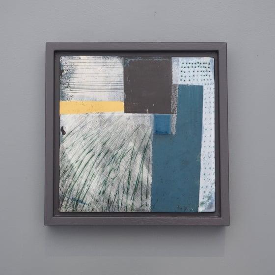 Image of Ceramic Painting - Sea Blue Series No. 2
