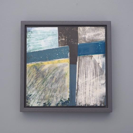 Image of Ceramic Painting - Sea Blue Series No. 3