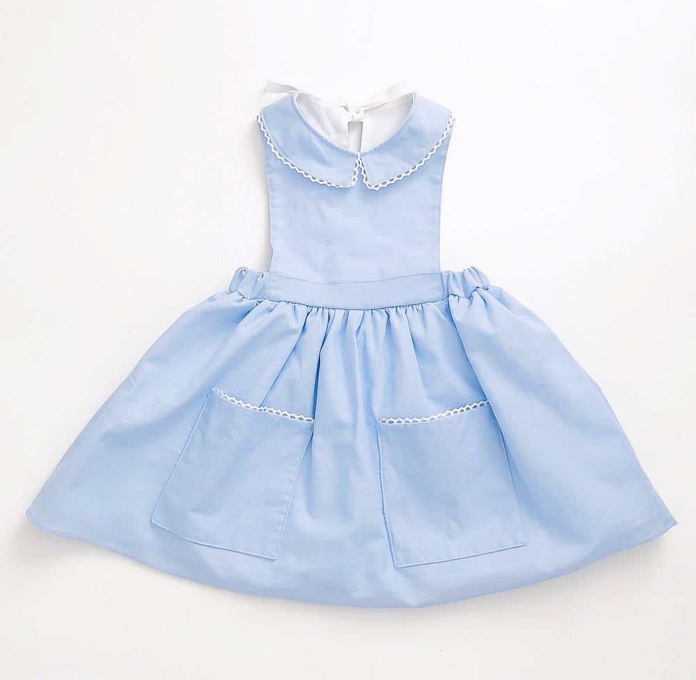 Image of Lil Blu Pinafore