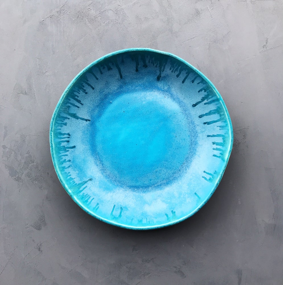 Image of Turquoise waterfall bowl