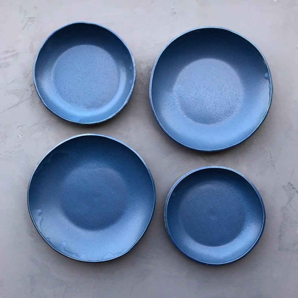 Image of Matte Blue Bowls