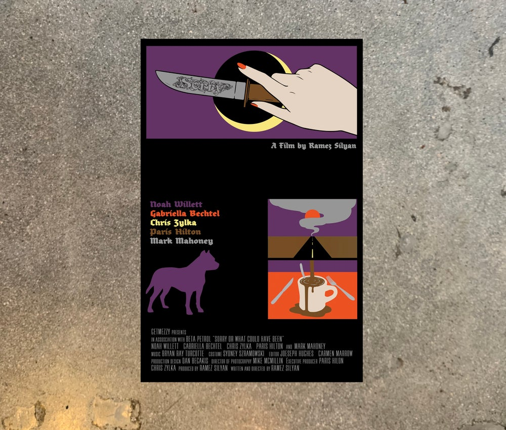Image of SORRY FILM POSTER