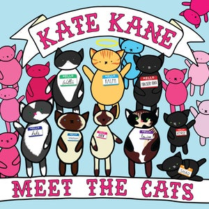 Image of Kate Kane - Meet The Cats CD