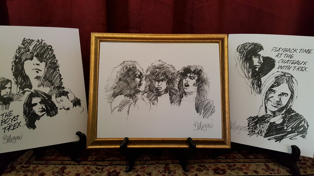 Image of Treasured Trio (all personally signed by Bill & Free Shipping!]