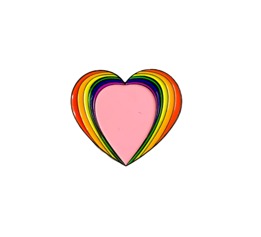 Image of 'Love is Love' Enamel Pin