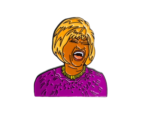 Image of 'Azucar!' Enamel Pin