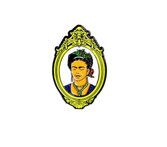 Image of 'La Frida' Enamel Pin