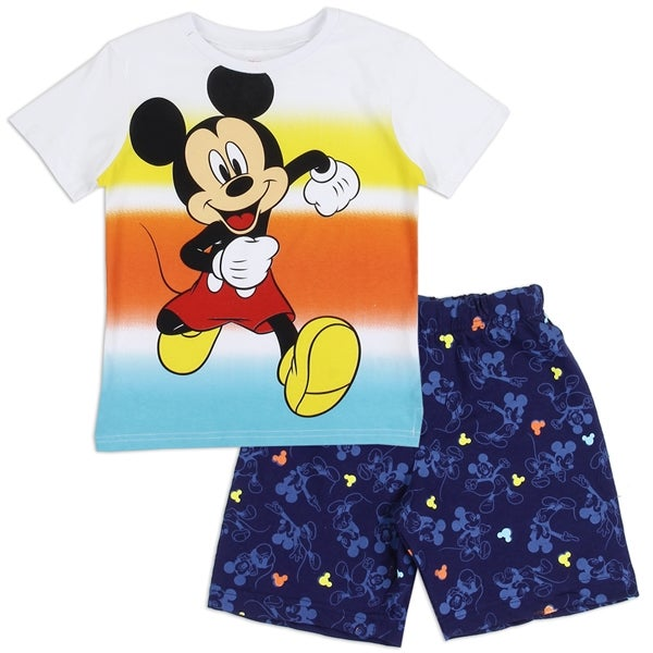 Image of Boys Toddler Mickey Mouse Short Set
