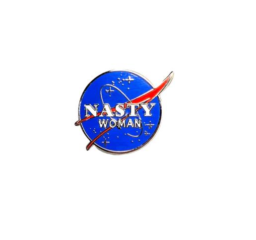 Image of 'Nasty Woman' Enamel Pin