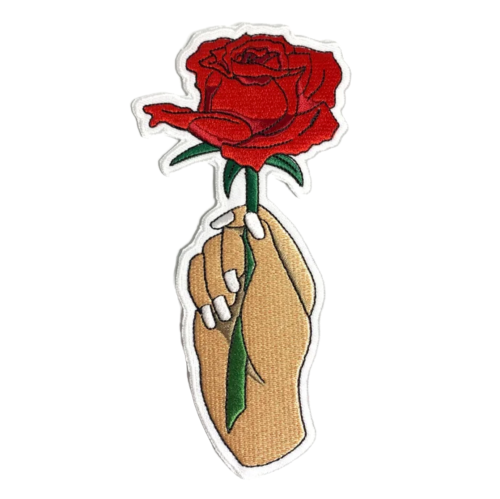 Image of 'Como La Flor' Patch