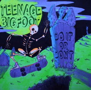 Image of Teenage Bigfoot - Do It Or Don't CD