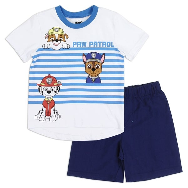 Image of Boys Toddler Paw Patrol Short Set