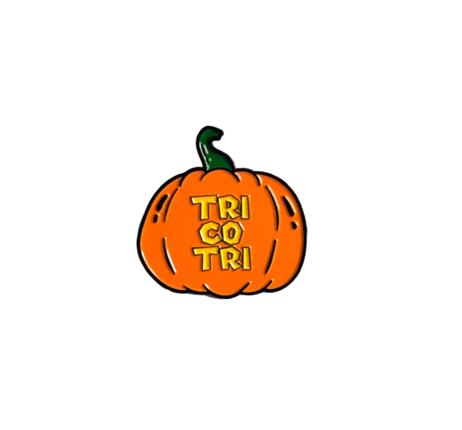 Image of 'Tri co Tri' Enamel Pin