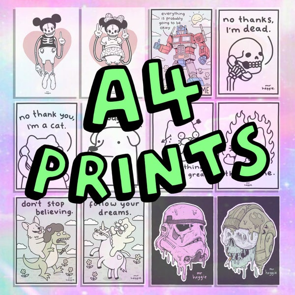 Image of The A4 prints