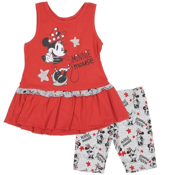 Image of Girls Minnie Mouse Short Set