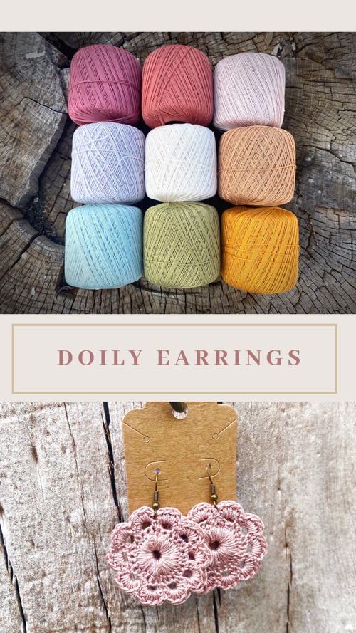 Image of Doily Earrings