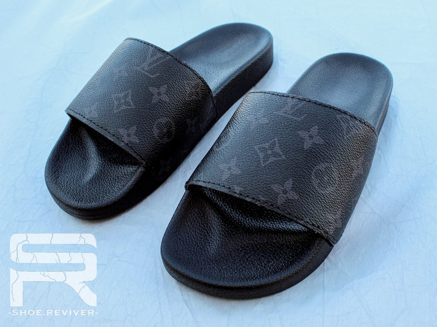 Image of Black LV Slides