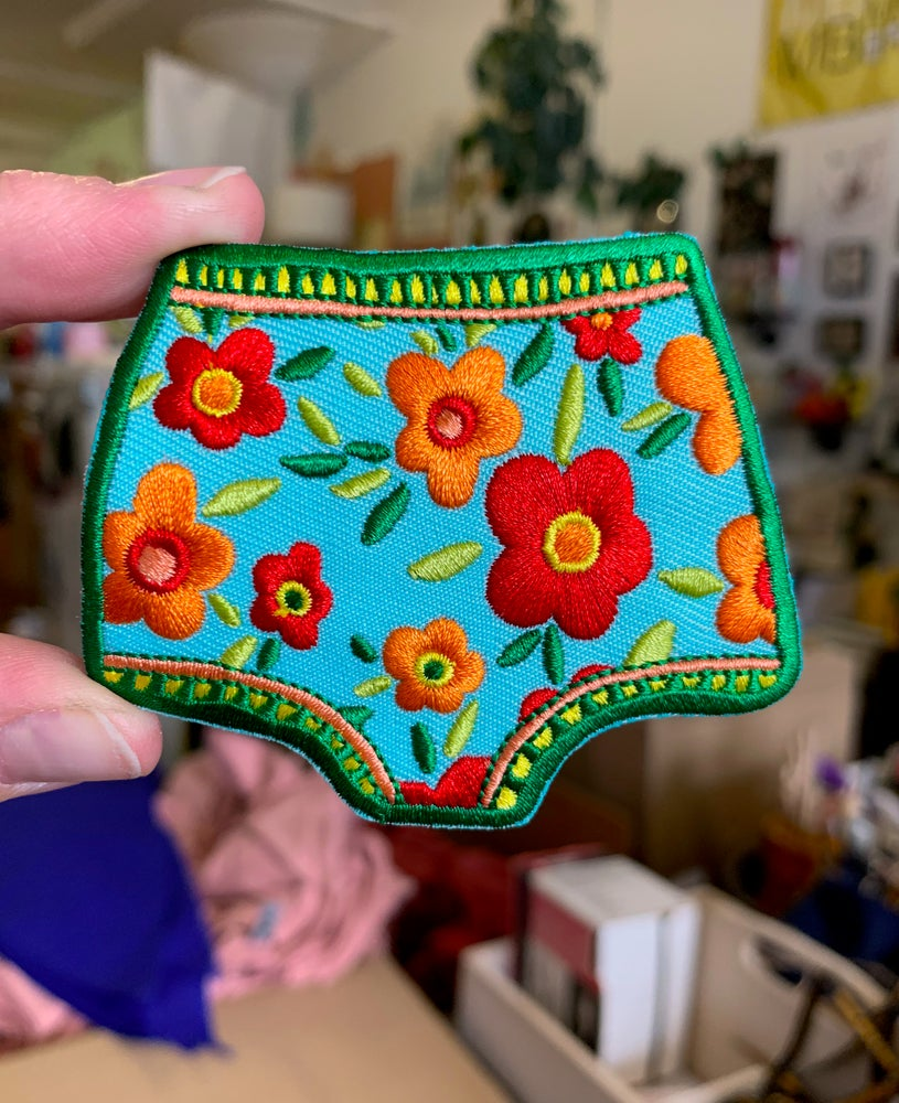 Image of Dream Undies- Iron on Patch