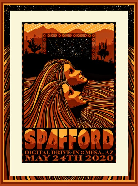 Image of Spafford Mesa Arizona Print 5-24-2020
