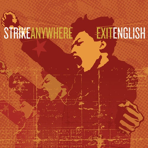 Image of *PRE-ORDER* Strike Anywhere - Exit English LP (indie color vinyl)