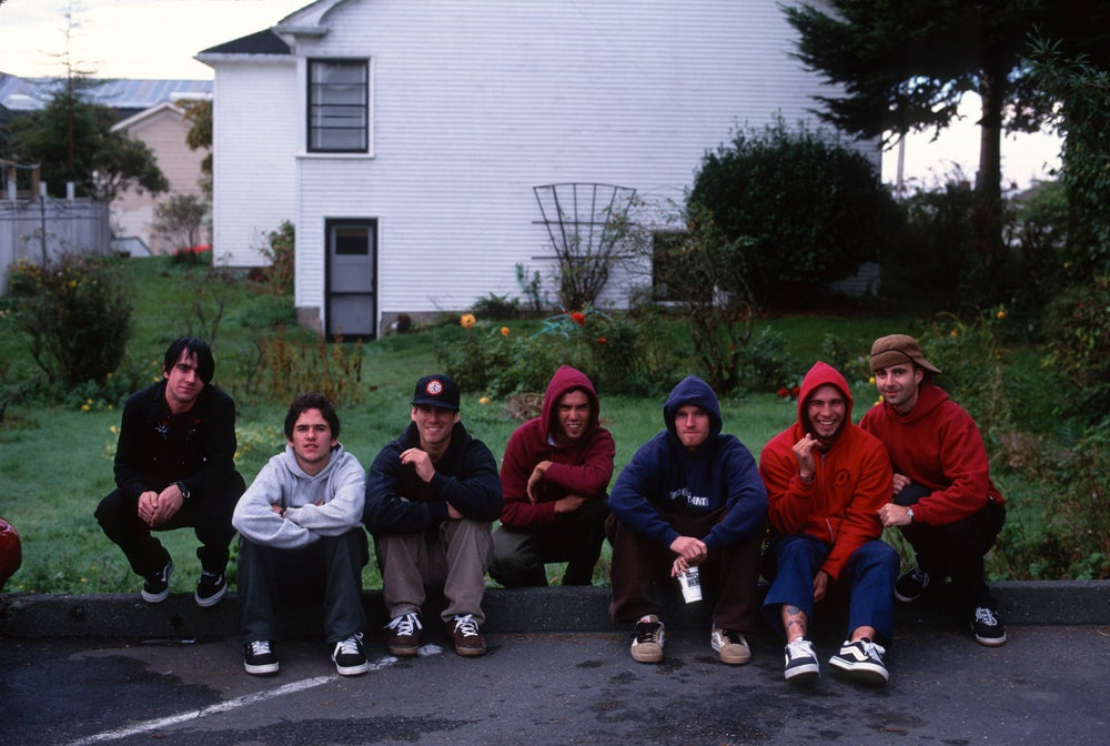 "Ethan Fowler, Bay, John Cardiel, Antonius ""Toad"" Dintcho, Julien Stranger, Mickey Reyes and Tobin"