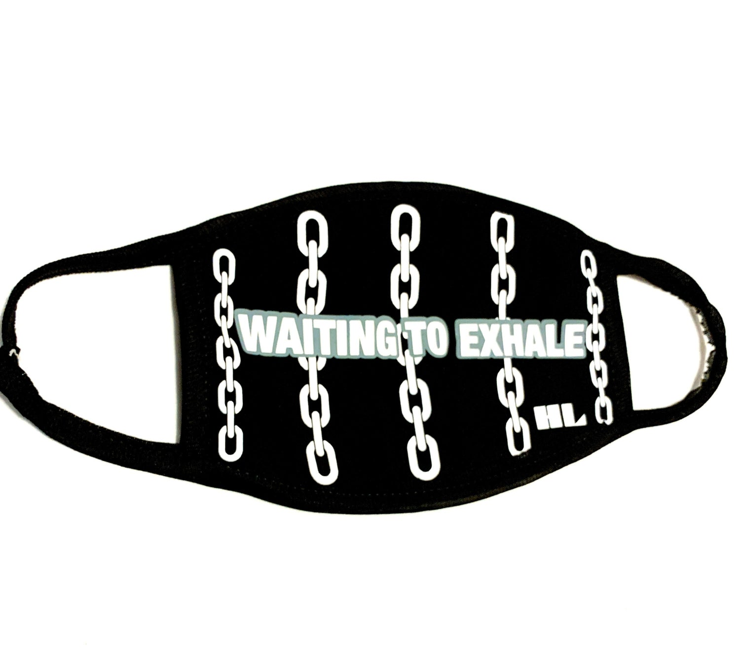 "Image of ""Waiting To Exhale"" Face Mask"