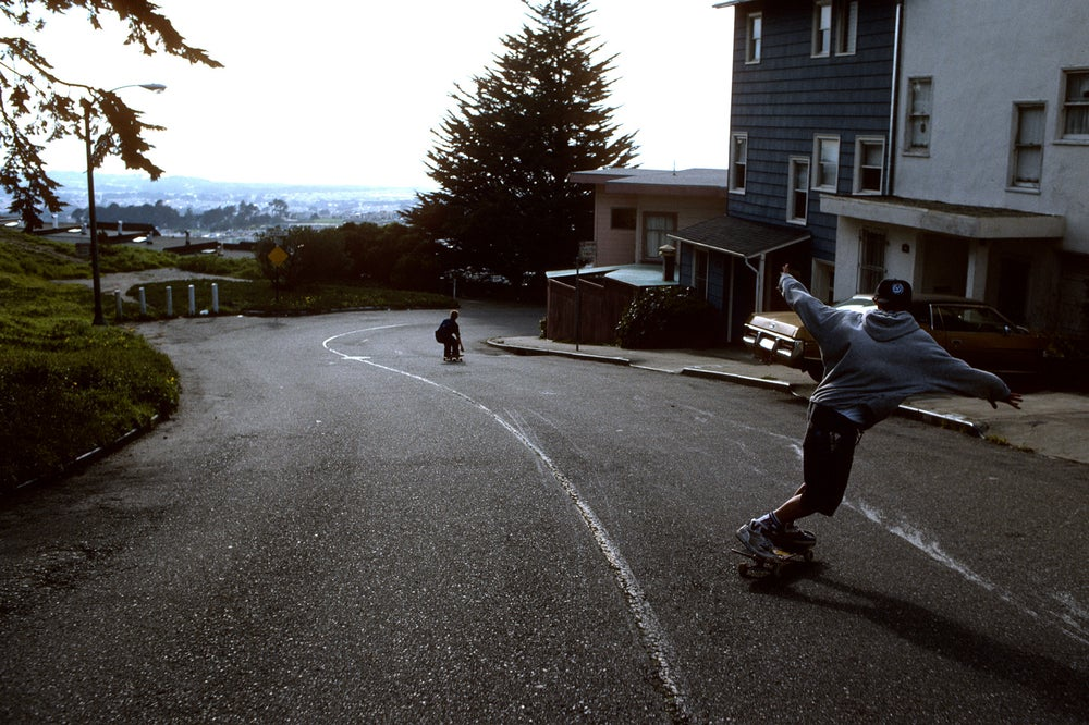 Danny Sargent and Brian Ferdinand, Backside 9th Ave 90