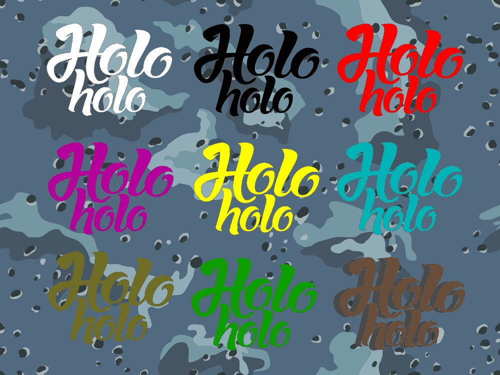 Image of ORIGINAL HOLO HOLO STICKERS