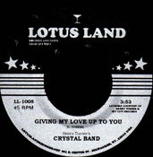 "Image of LL-1005 - Crystal Band ""Music"" b/w ""Giving My Love Up To You"""