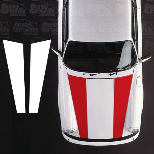 Image of VINTAGE R TYPE HOOD STRIPES