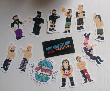 Image of ATTACK! Sticker Collection