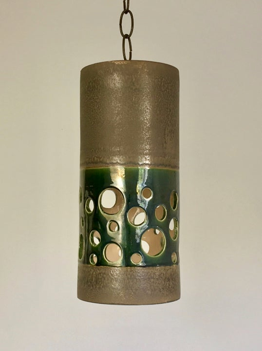 Image of Ceramic Pendant Light by Eduardo Vega