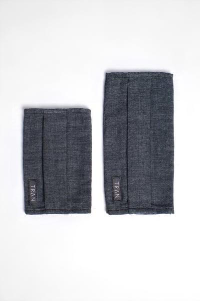 Image of TRAN - 二重紗織棉質雙面用口罩套 (兒童)