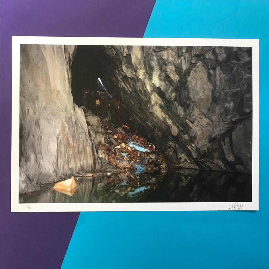 Image of The Taffy - Mine Print