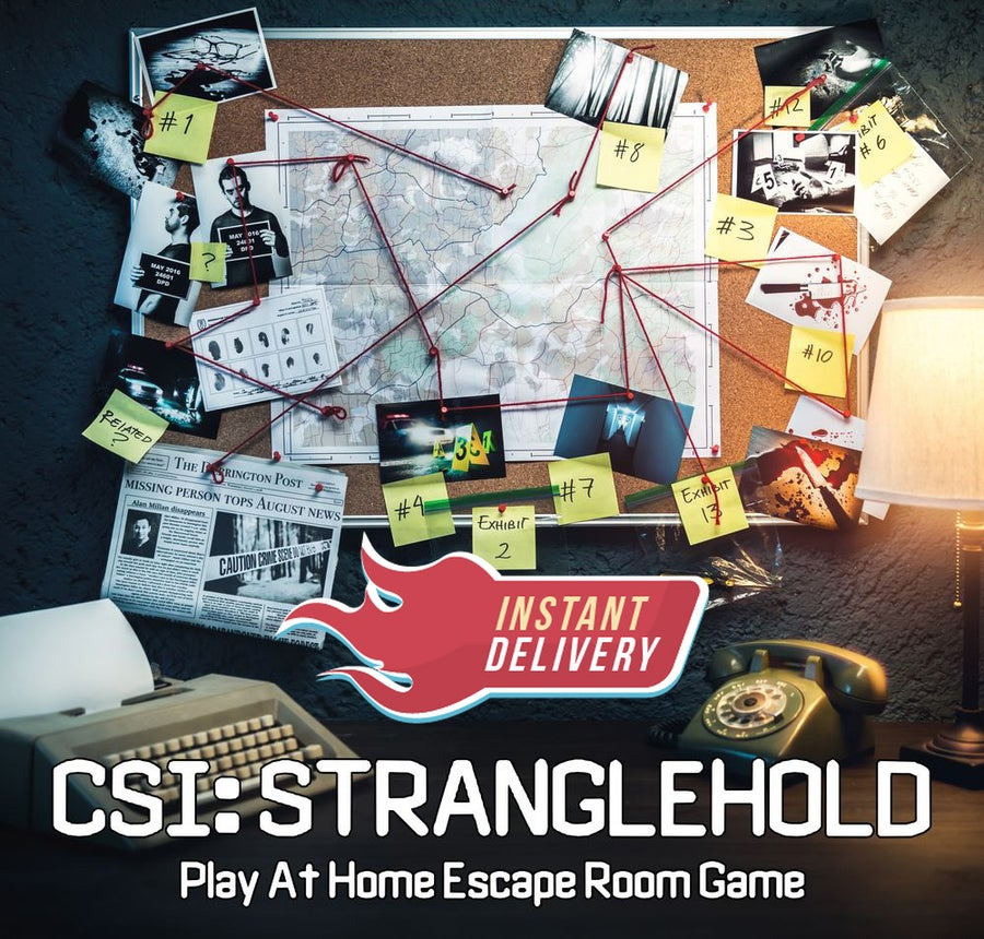 Image of CSI: Stranglehold - Online Escape Room