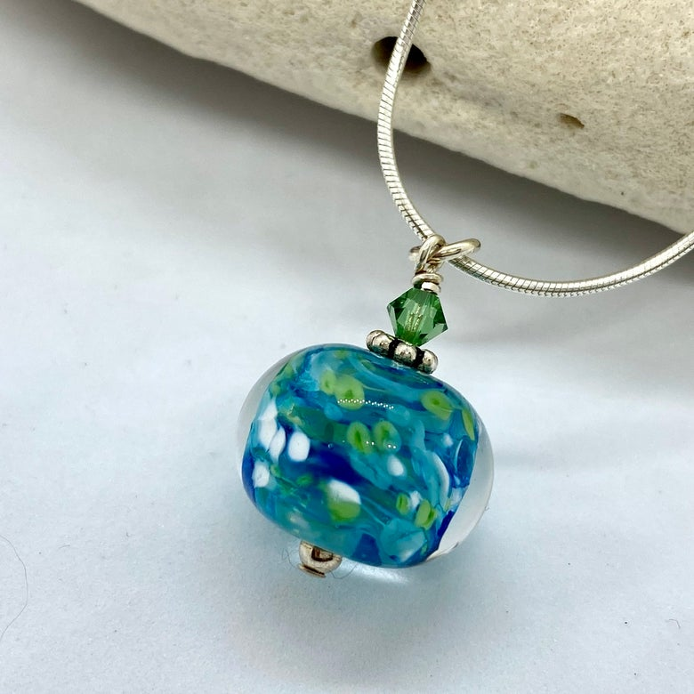 Image of Tropical Storm Bobble Necklace (with crystal)