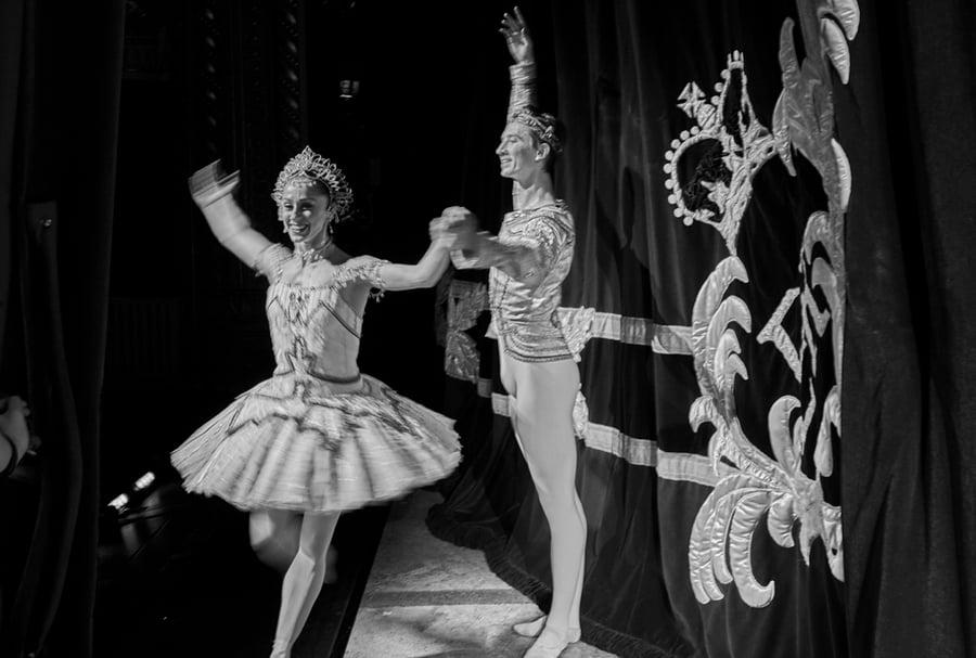 Image of Marianela Nunez and Vadim Muntagirov - Principals of The Royal Ballet