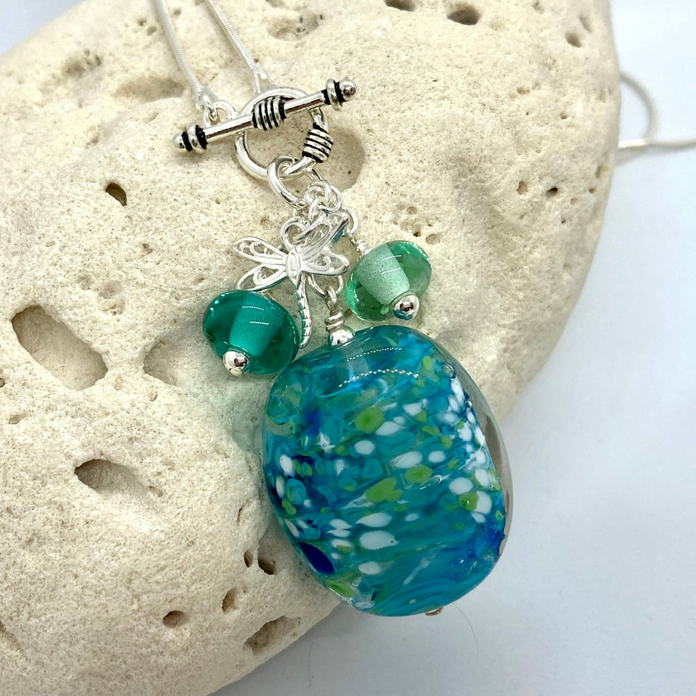Image of Tropical Storm Toggle Necklace