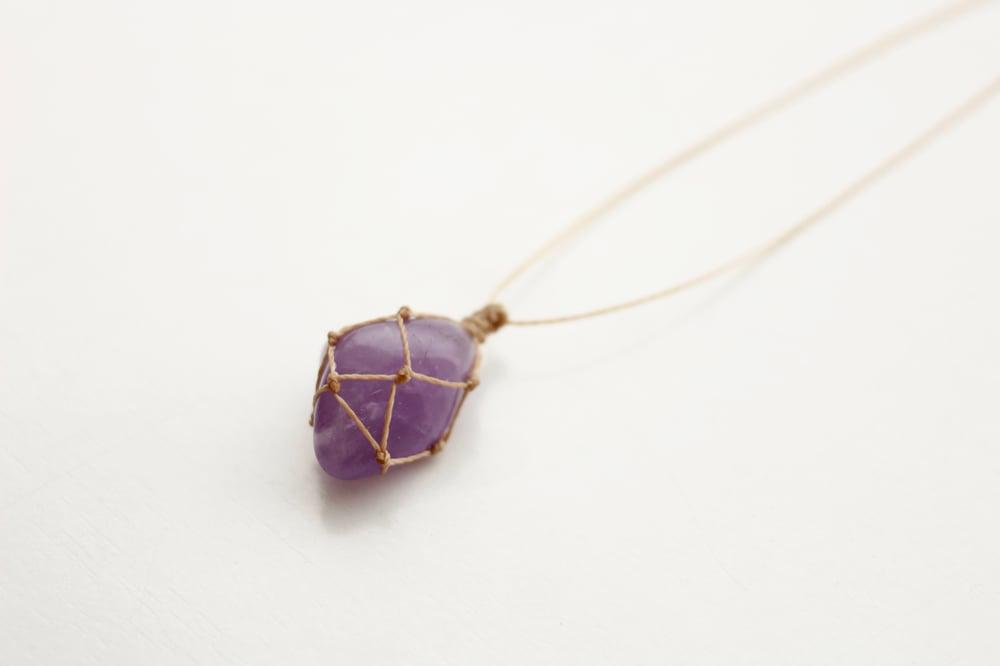 Image of Amethyst pendant