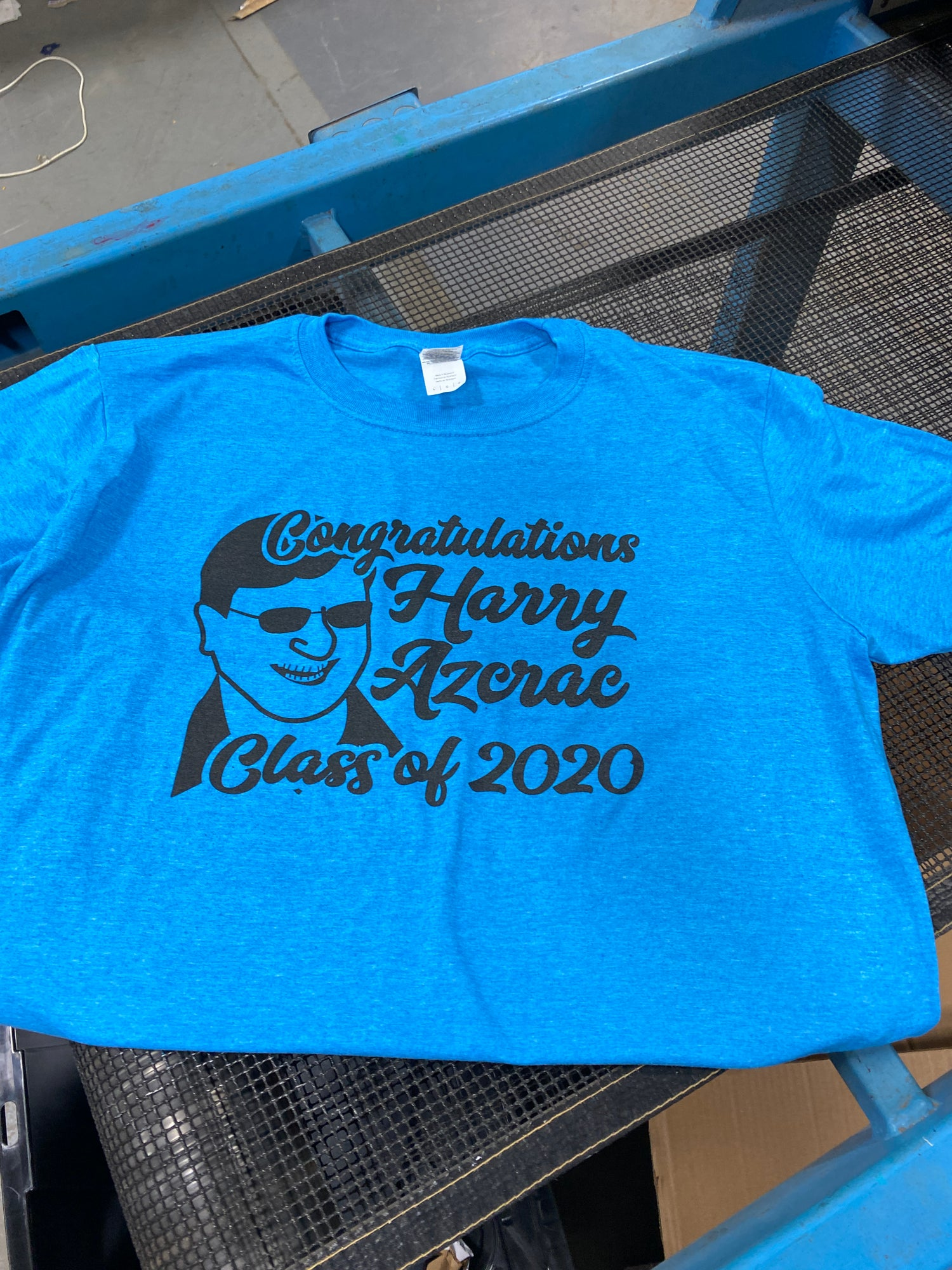 Image of Harry Azcrac Class of 2020 Teeshirt (USPS DELIVERY OPTION)