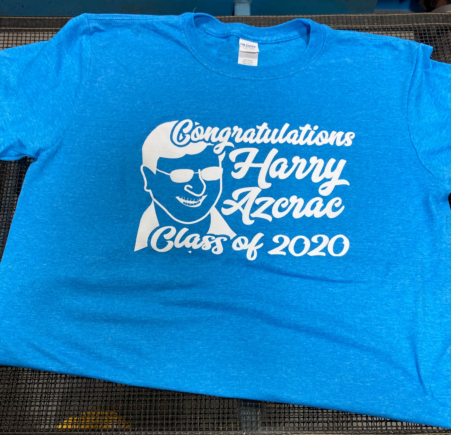 Image of Harry Azcrac Class of 2020 Teeshirt (PICK UP OPTION)