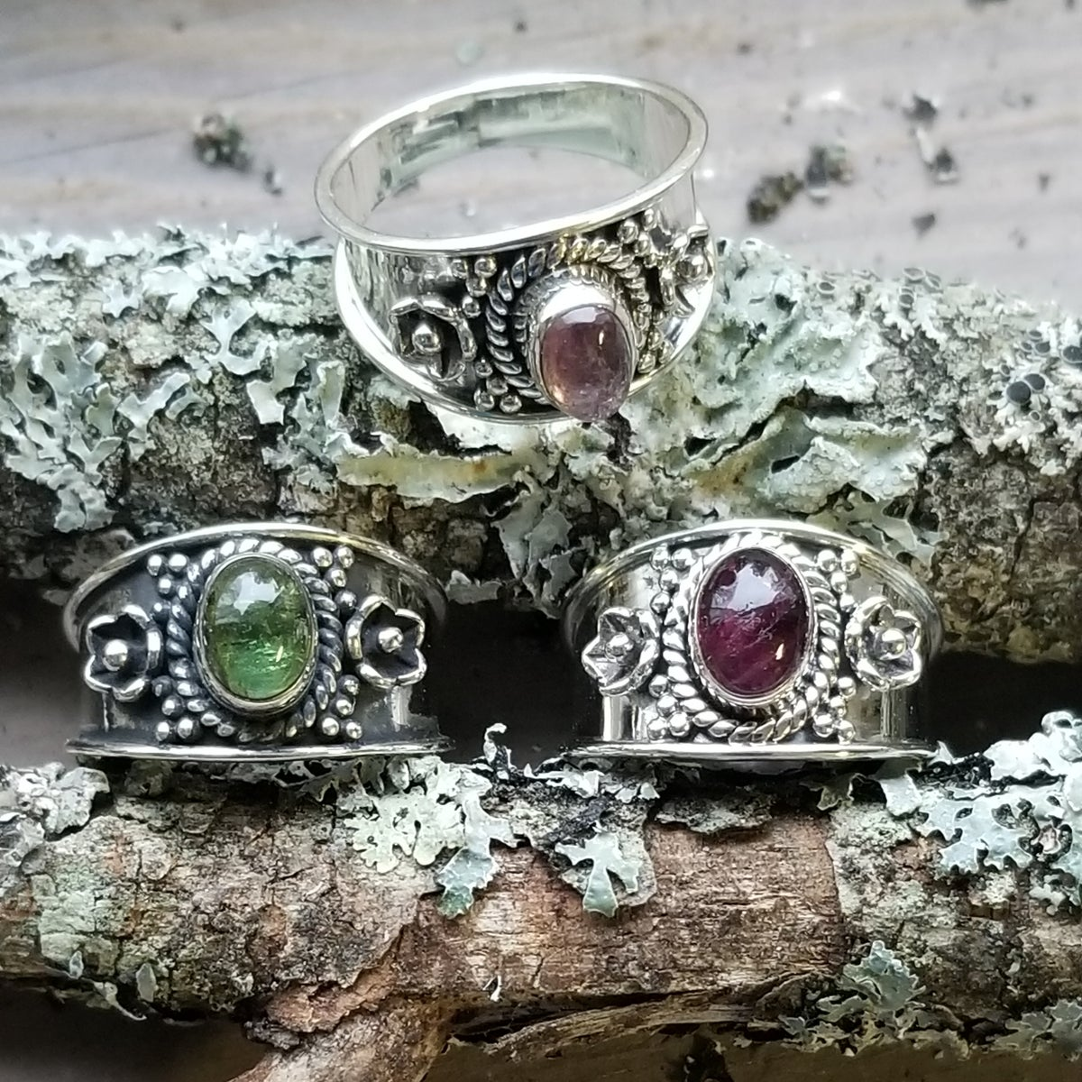 Image of Jasmine Rings - Tourmaline in Sterling